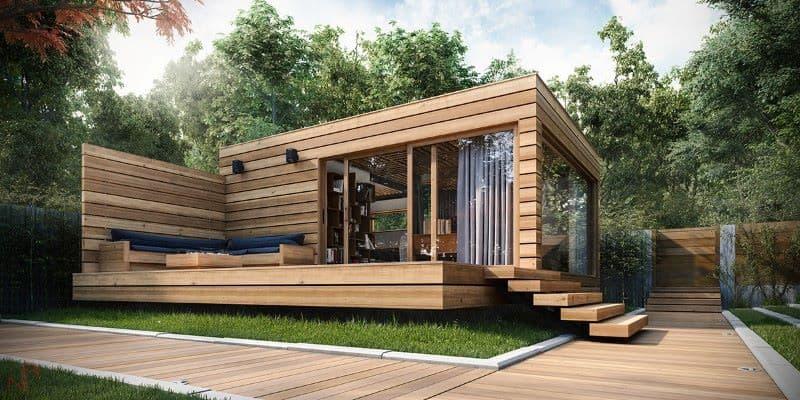Hur man bygger ett modernt sommarhus som du kommer att älska - inspirera.