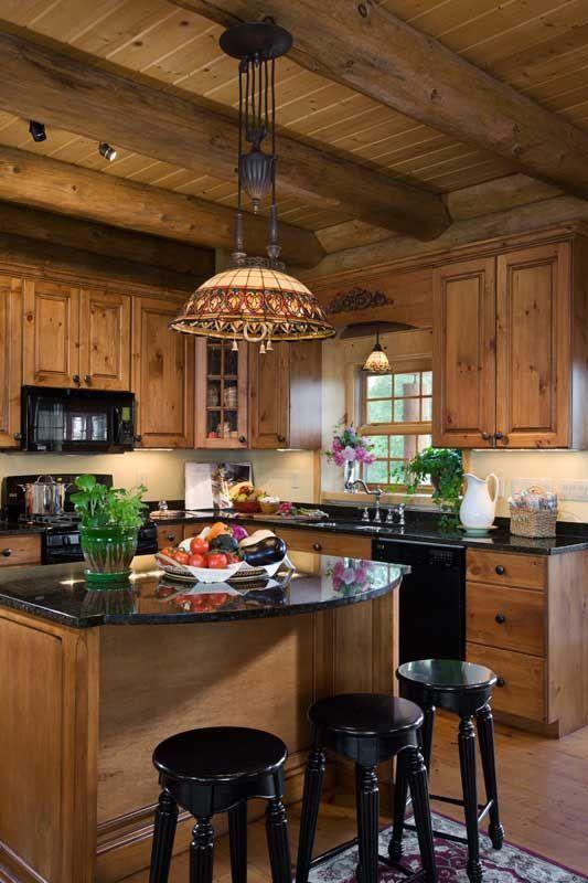 40 mysiga stugköksdesigner för att bli inspirerade    Logga hem kök.