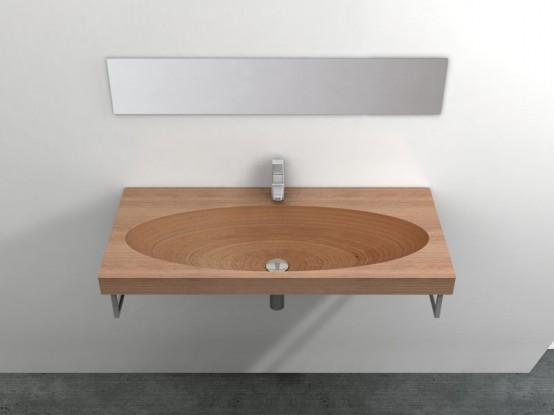 Natural Wood Sink - Stan av Plavisdesign - DigsDi