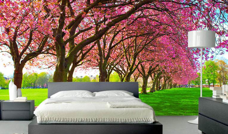 Naturinspirerade tapetidéer för hem eller kontor  Skriv ut A.