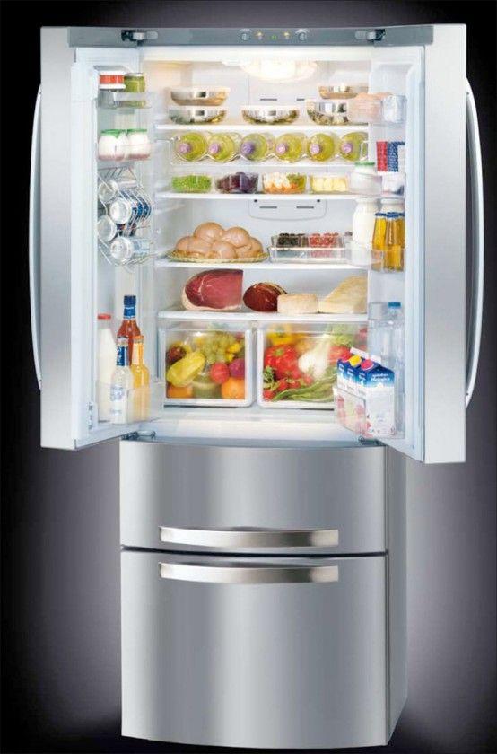 Nytt ergonomiskt kylskåp med 4 dörrar - Quadrio från Hotspot-Ariston |  4.