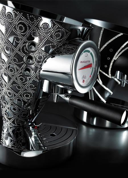 Nya lyxdesigner av Bugattis kaffebryggare - DigsDi