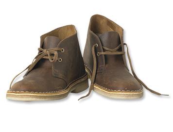 Läder Desert Boots för kvinnor - Orv