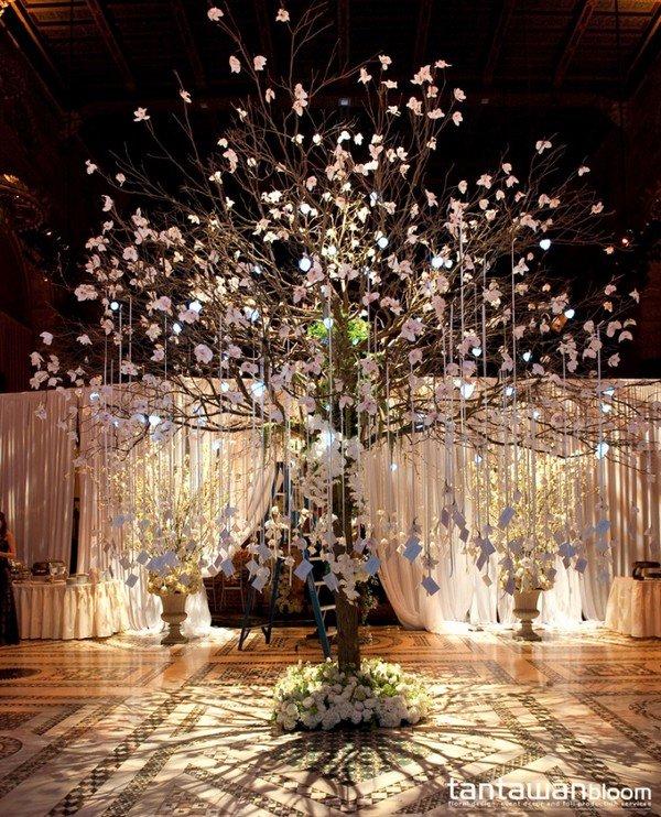 Topp 10 önskvärda träd dekorationsidéer för din bröllopsdag - Åh.