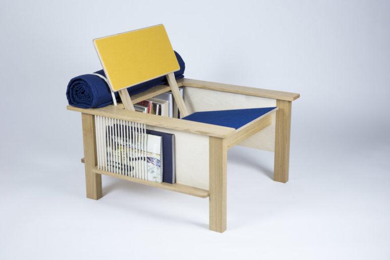 Funktionellt häststol med förvaring - DigsDi