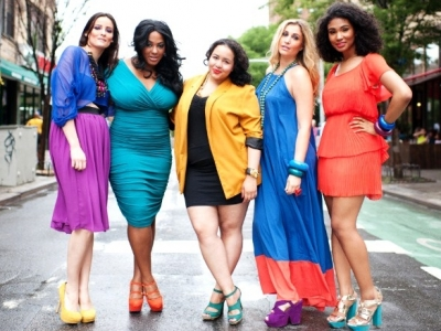 Plus Size Skor för kvinnor - Mode klänning