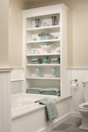 43 idéer hur du organiserar ditt badrum |  Traditionellt badrum.