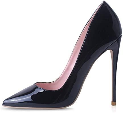 Amazon.com |  Elisabet Tang High Heels, Womens Pointed Toe Slip on.