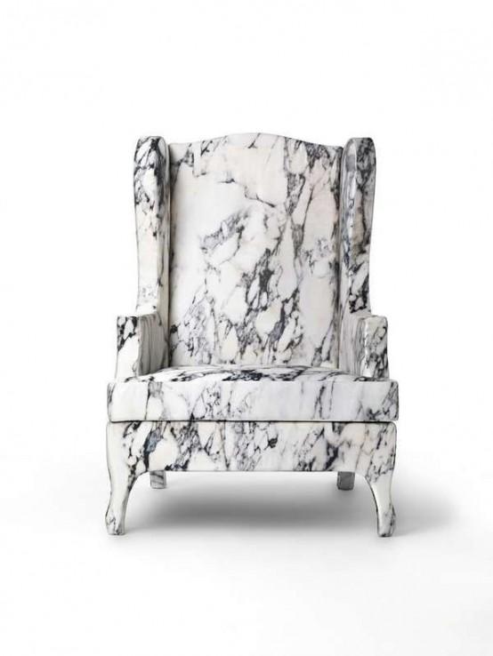 30 raffinerade marmorbitar och inredningsobjekt för alla hem.