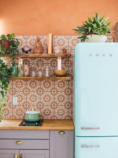 En sammanfattning av våra favoritnyanser    Retro hem, heminredning, dekor.