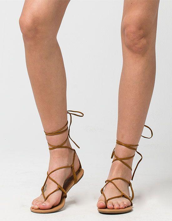 Sandaler för kvinnor - Flip Flop, Gladiator & Slides |  Snör upp gladiatoren.