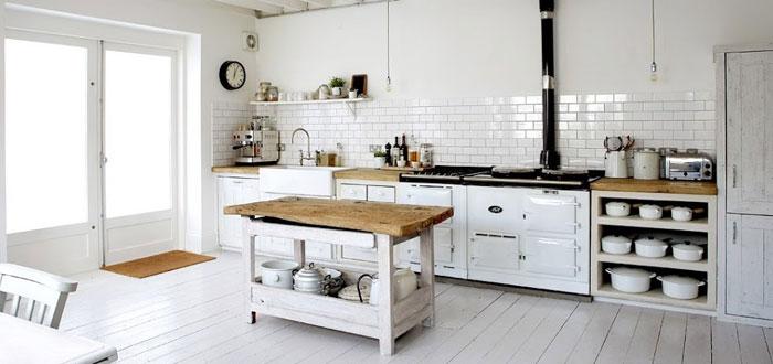 10 fantastiska rustika skandinaviska köksdesigner - My Cozy Retreat.