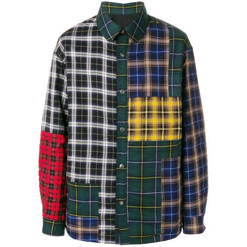 Lanvin Patchwork rutad skjorta, 1 664 $    farfetch.com    Lookast