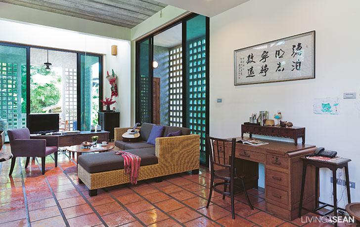 Modern thailändsk stil Hou
