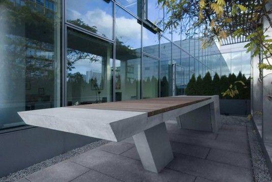 Grill och bord i modern design av Kinzo |  Modernt.