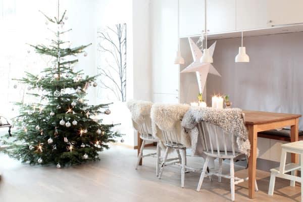 73 Strålande skandinavisk juldekorationside