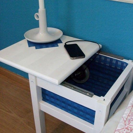 20 smarta IKEA Oddvar pallhackar för ditt hem |  Sängskåp.