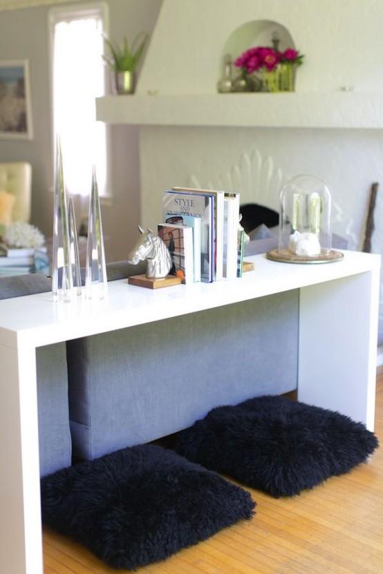 34 smarta sätt att kombinera en soffa och bord och stolar - DigsDi