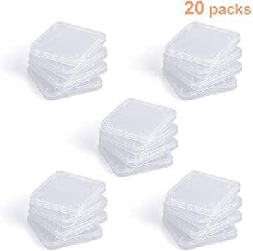 Amazon.com: SD-korthållare, WOVTE plast SD MMC SDHC PRO Duo.