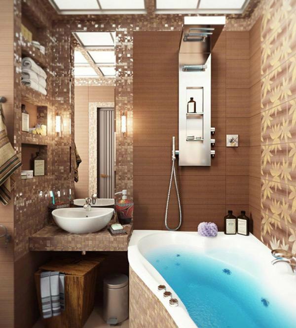 40 snygga små badrumsdesignidéer    Decohol