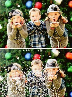 Söta julidébilder för familjen |  Familj jul bilder.