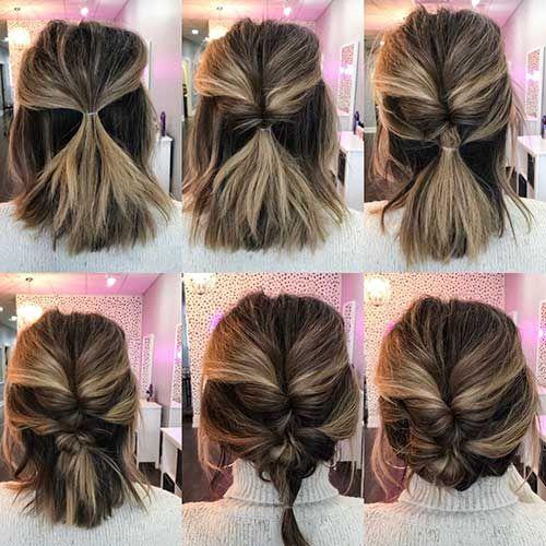 Söta enkla frisyrer för kort hår    Korta frisyrer enkelt, söt.