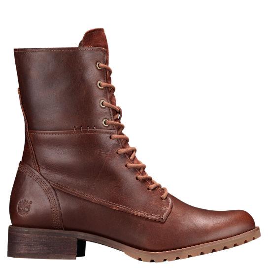 Banfield Mid Lace Boots för kvinnor |  Timberland US Sto
