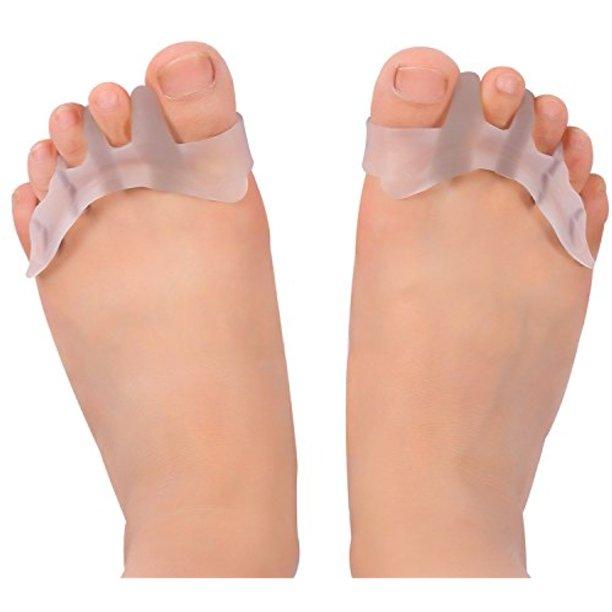 Gel Toe Separator Toe Spacers Toe Stretchers för män och kvinnor.