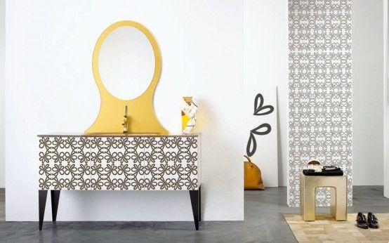 TanteAnte - Harmoniska badrumsmöbler av F.lli Branchetti.