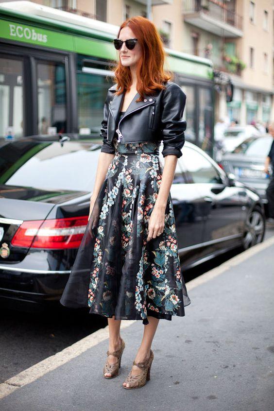 Crop jacka te längd klänning
