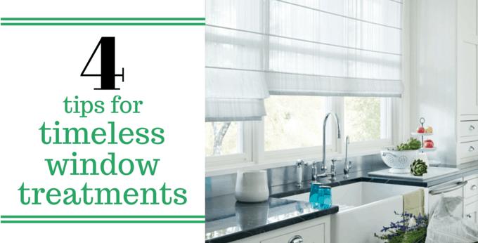 4 tips för tidlösa fönsterbehandlingar    Decorvi