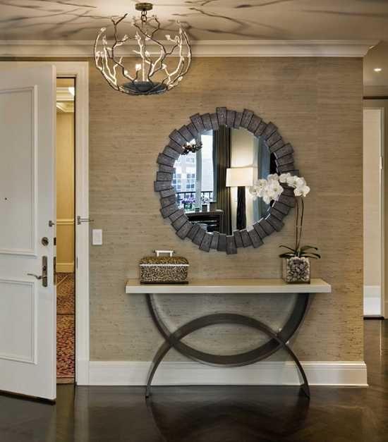 15 underbara entrédesigner och tips för dekoration av entréer.