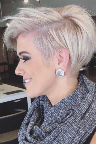 12 förtjusande och snygga korta hårklippningar för tjockt hår |  Kort.