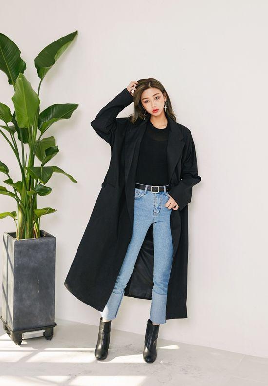 Koreanska trendbloggen online stil trend  Koreanskt gatumode.