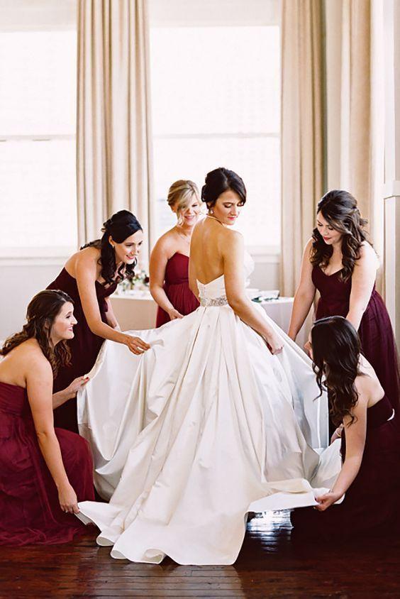 Underbara bröllopsfotoidéer för brudtärnor - Fashioncold.
