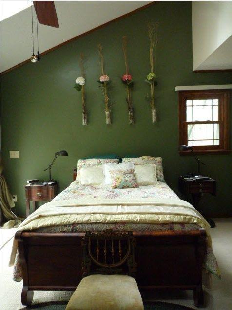 10 underbara vårinspirerade sovrumsidéer: fängslande.