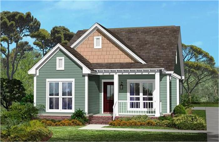Cottage Style Homes - Elements of Cottage Style Architectu