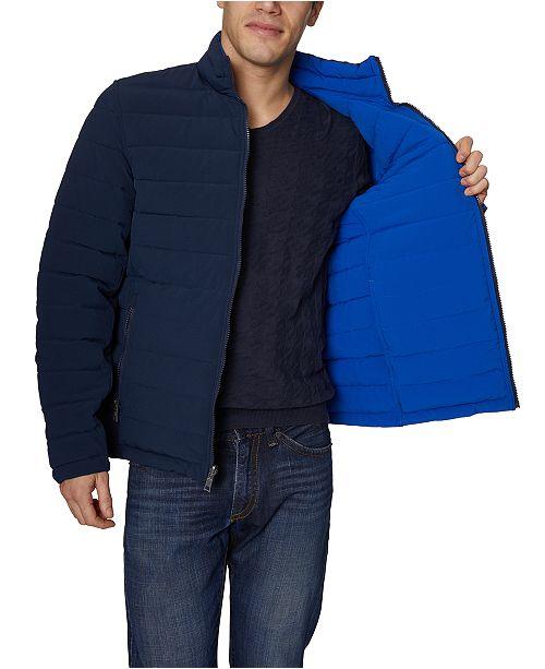 Nautica Mid-Weight Stretch Reversible Puffer Jacka för män.