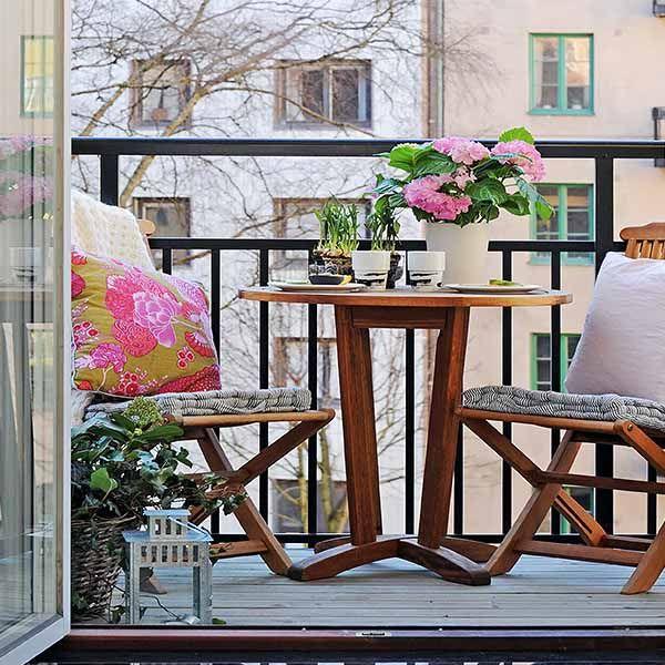 15 gröna dekorationsidéer för liten balkong, vårdekorationer.