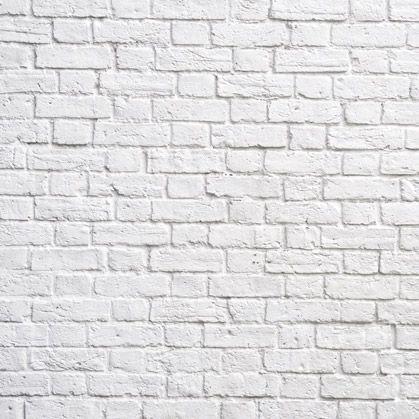 Vit tegelvägg |  Tegelväggdekor, Tegelstenvägg, Vit.