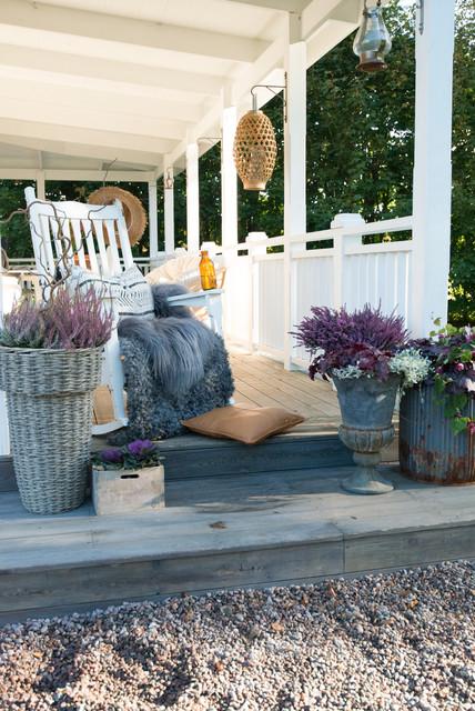 Användbara tips för att dekorera en sommar veranda