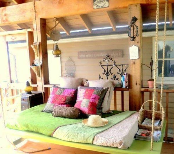 Avkopplande hängande sängar utomhus för ditt hem