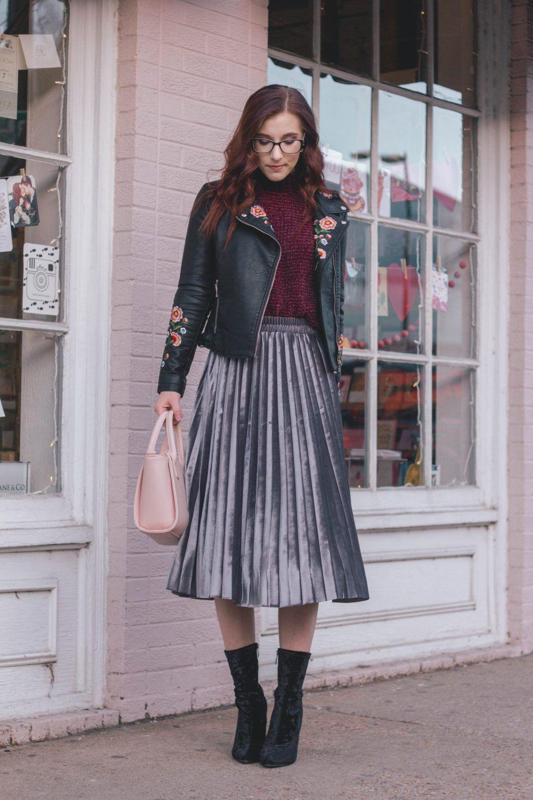 Bär kjol vinteroutfitidéer