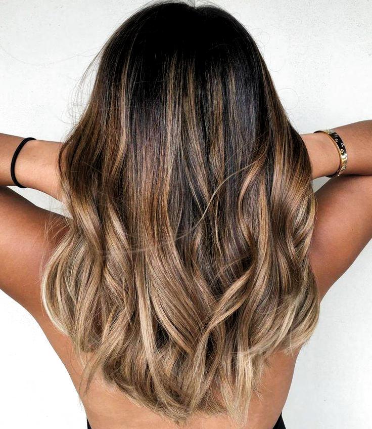 Bästa hårfärg idéer för brunetter