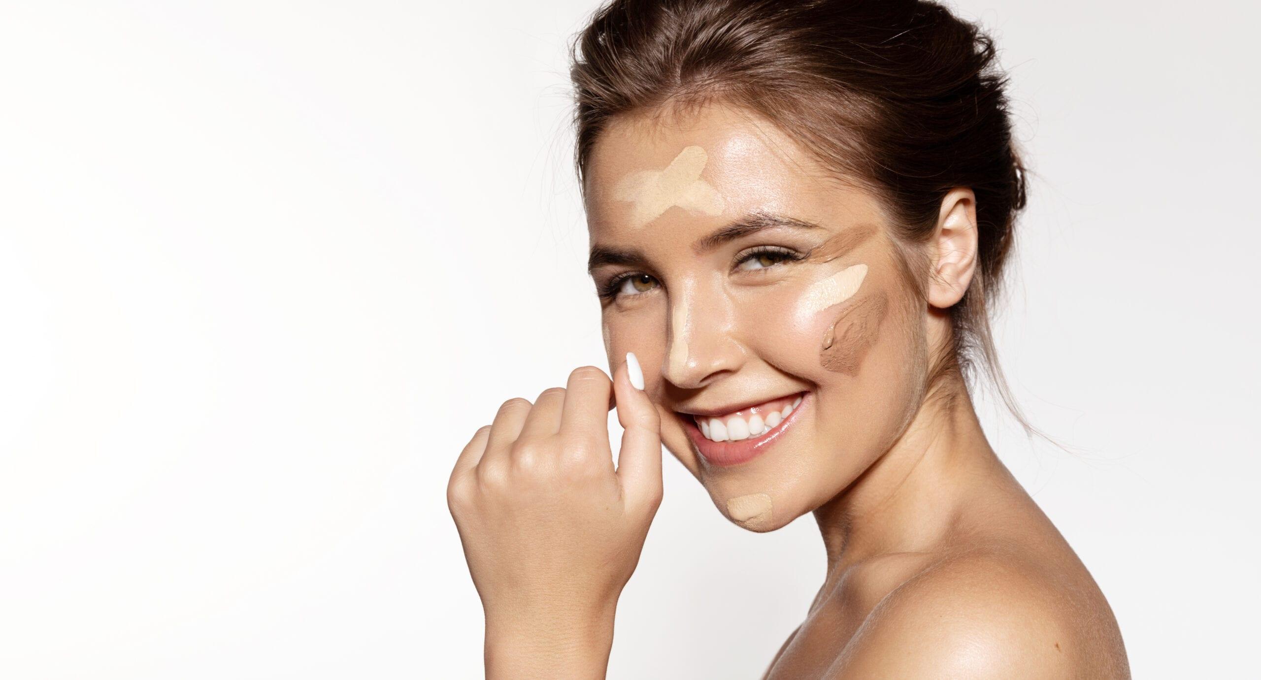 Bästa mattmakeup för fet hud