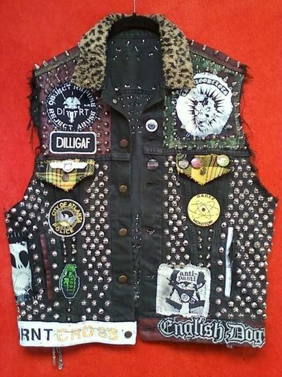 Bästa Punk Vest-stil