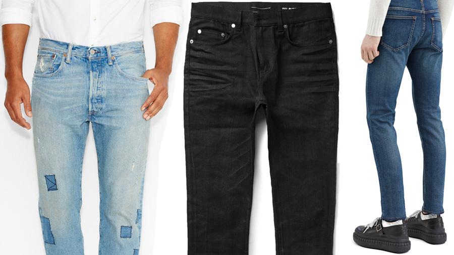 Bästa sättet att bära jeans för våren