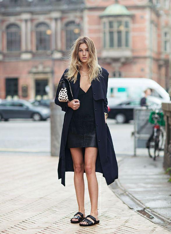 Beskuren skinnjacka Chic Ways Wear