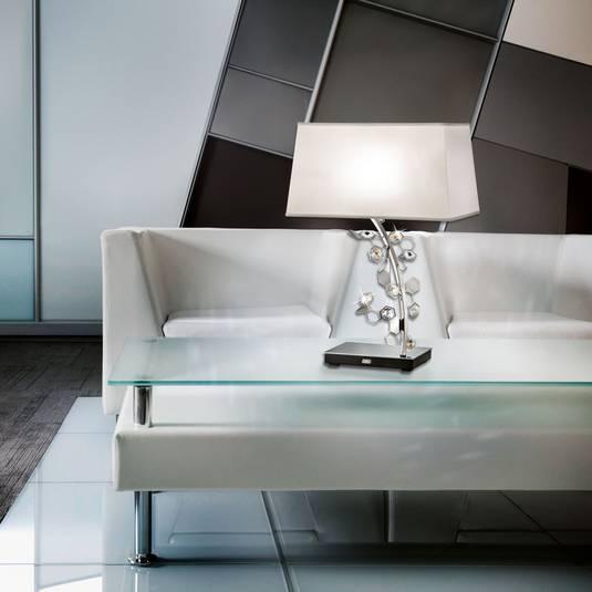 Bord med Swarovski-kristaller