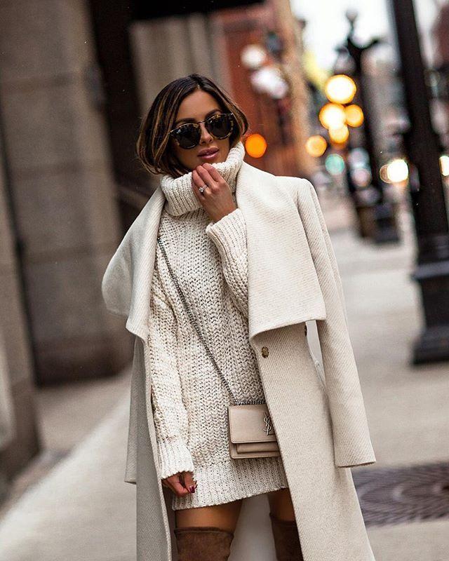 Coat Dress Outfit Idéer